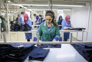 Herstellung von Textilien in Tunesien