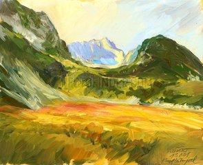 Zugspitze vom Hupfleitenjoch