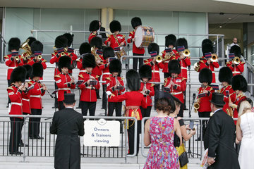 Royal Ascot  Orchester at the racecourse