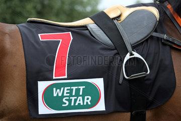 Hamburg  Nummerndecke mit der Aufschrift Wett Star