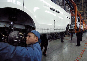 China: Autoindustrie