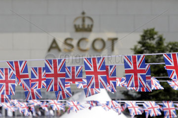Royal Ascot  National flags