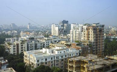 Stadtansicht von Dhaka in Bangladesch