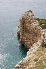Steilkueste in Apulien