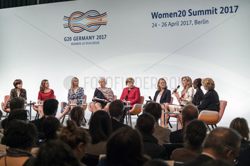 Leibinger-Kammueller + Freeland + Trump + Lagarde + Merkel + Meckel + Maxima + Rotich + Finucane