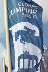 Berlin  Fahne von Global Jumping Berlin
