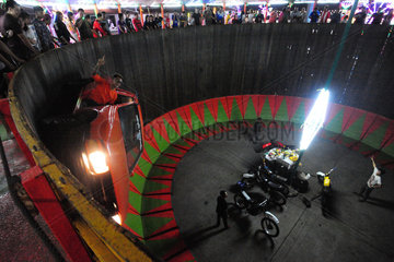 THAILAND-BANGKOK-WALL OF DEATH