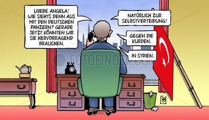 Erdogan und Syrien