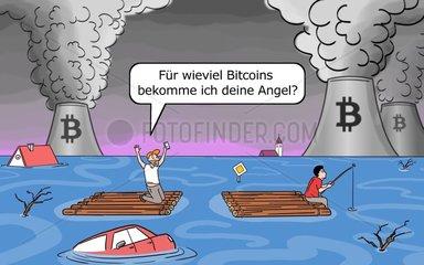 bitcoin - Serie der digitale Wahnsinn