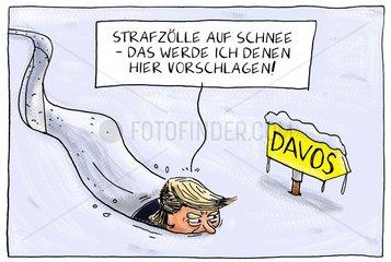Trump kommt nach Davos