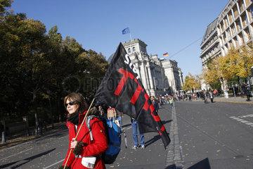 Demo gegen TTIP in Berlin