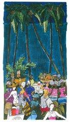 Karibik Fest unter Palmen