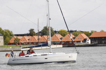 Segelboot in Kopenhagen
