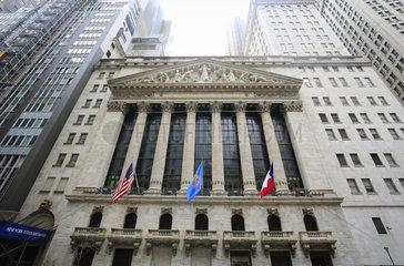 Wall Street  Boerse in New York