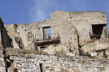 Craco das verlassene Dorf