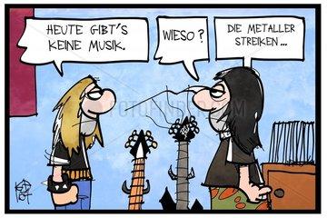 Metaller-Streik