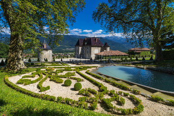 FRANCE - FRENCH ALPS CASTLE