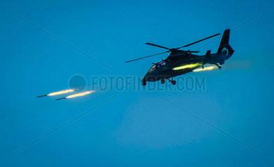 #CHINA-LIVE-FIRE EXERCISE-ARMED HELICOPTERS (CN*)