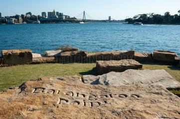Sydney  Australien  Blick vom Barangaroo Point Richtung Balmain