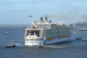 FRANCE - ST NAZAIRE - SYMPHONY OF THE SEAS