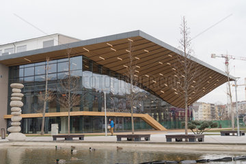 HUNGARY-BUDAPEST-NATIONAL DANCE THEATER-NEW BUILDING-OPENING