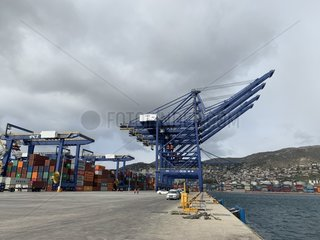GREECE-PIRAEUS-CHINA-COSCO-SHIPPING PISCES-DOCKING