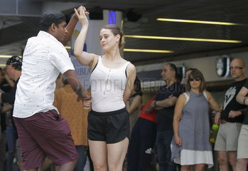 CANADA-VANCOUVER-SUNDAY AFTERNOON SALSA EVENT