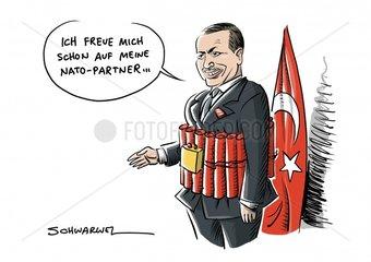 Krieg in Syrien: Erdoğan droht US-Truppen mit _osmanischer Ohrfeige