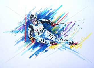 Slalom Serie Sportarten Leo Purmann