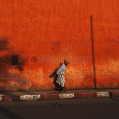 Street scene - Marrakesh