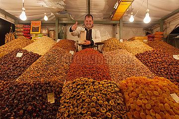 Market stall in Medina - Marrakesh
