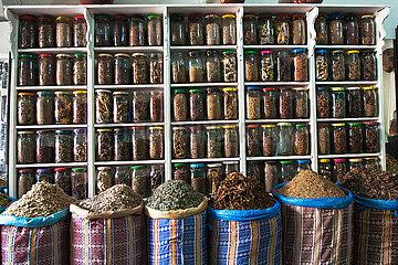 Spice Shop in Medina - Marrakesh