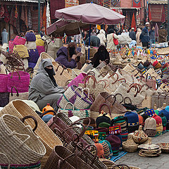 Selling in medina - Marrakesh