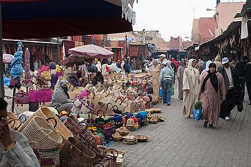 Selling in medina - Marrakesh