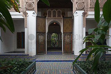 Bahia Palace - Marrakesh