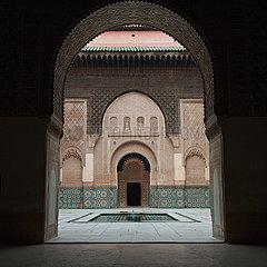 Ali Ben Youssef Madrasa  Islamic College - Marrakesh