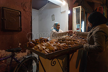 Bakery in medina - Marrakesh