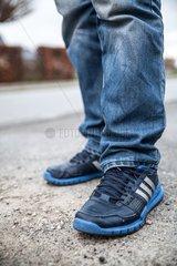 Fluechtlinge in Deutschland - Sulymans Schuhe