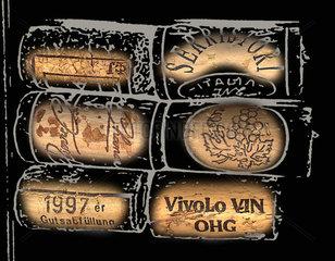 Wein Korken