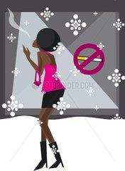 Raucher - Nichtraucher