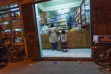 Drugstore in medina - Marrakesh