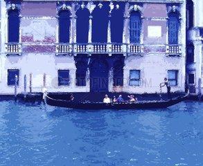 Venedig in blau
