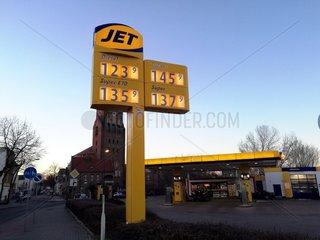 Jet-Tankstelle
