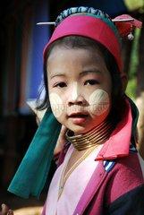 Thailand  Mae Hong Son  Frauen mit Langhals-Schmuck