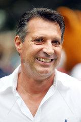 Iffezheim  Alois Schwartz  Trainer des Karlsruher SC  im Portrait