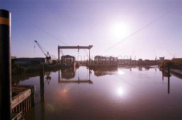 Cranz  Deutschland  Sietas Schiffswerft
