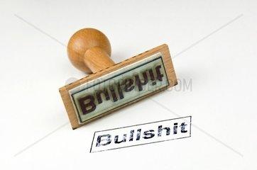 Stempel Bullshit -
