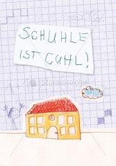 Serie Einschulung : Schulhaus
