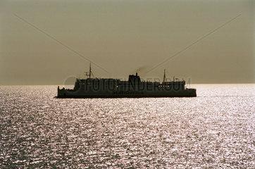 Mecklenburger Bucht  Ostsee  Deutschland  Scandlines Faehrschiff