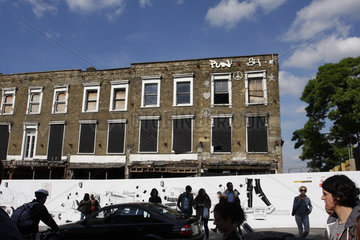Punk real estate in London